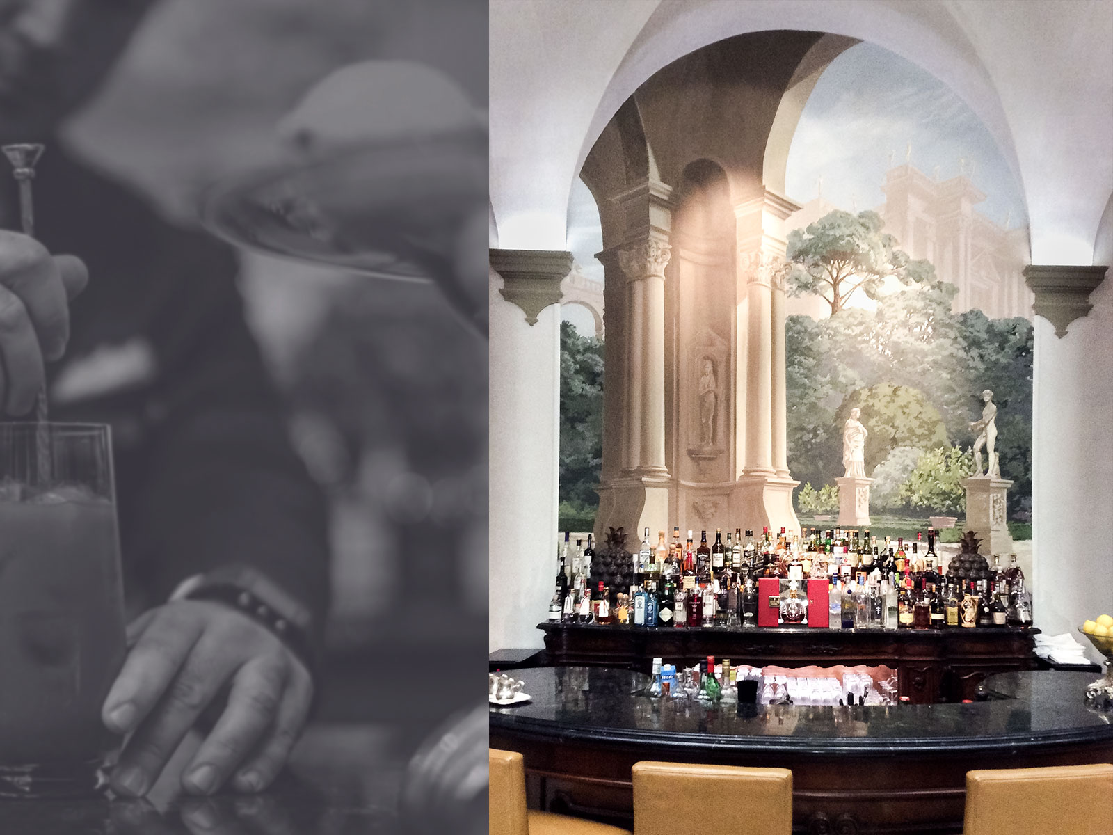 Bar St. Regis Florence - Alexander Hamilton - Decorative Painter - London