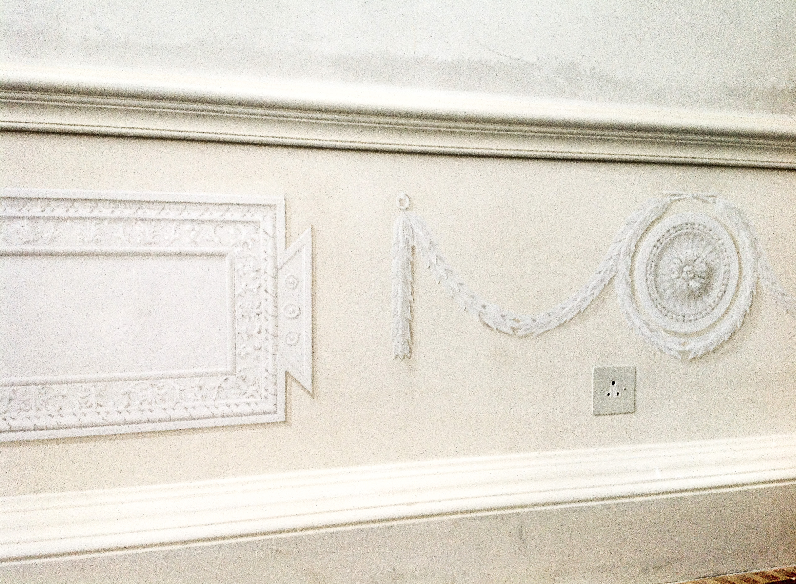 Ornamented Trompe l Oeil Panels Mayfair - Alexander Hamilton - Decorative Painting - London