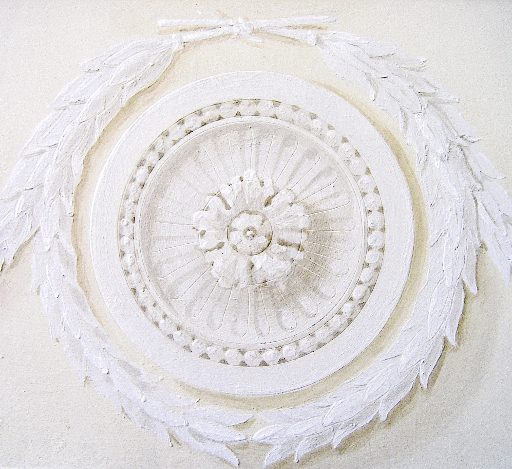 Rosette Decoration Mayfair - Alexander Hamilton - Decorative Painter - London