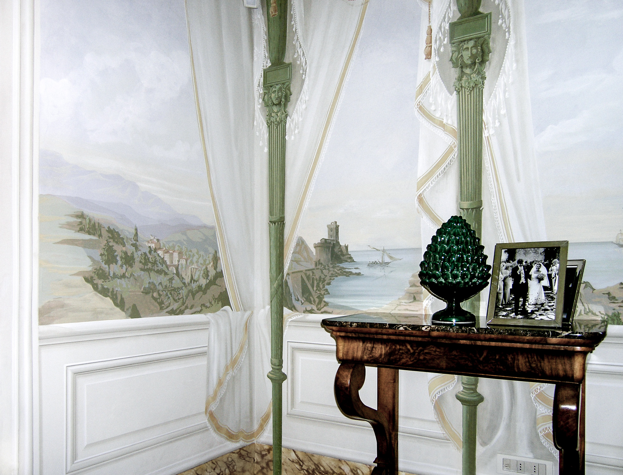 Tented room - Alexander Hamilton - Decorative Artist - London