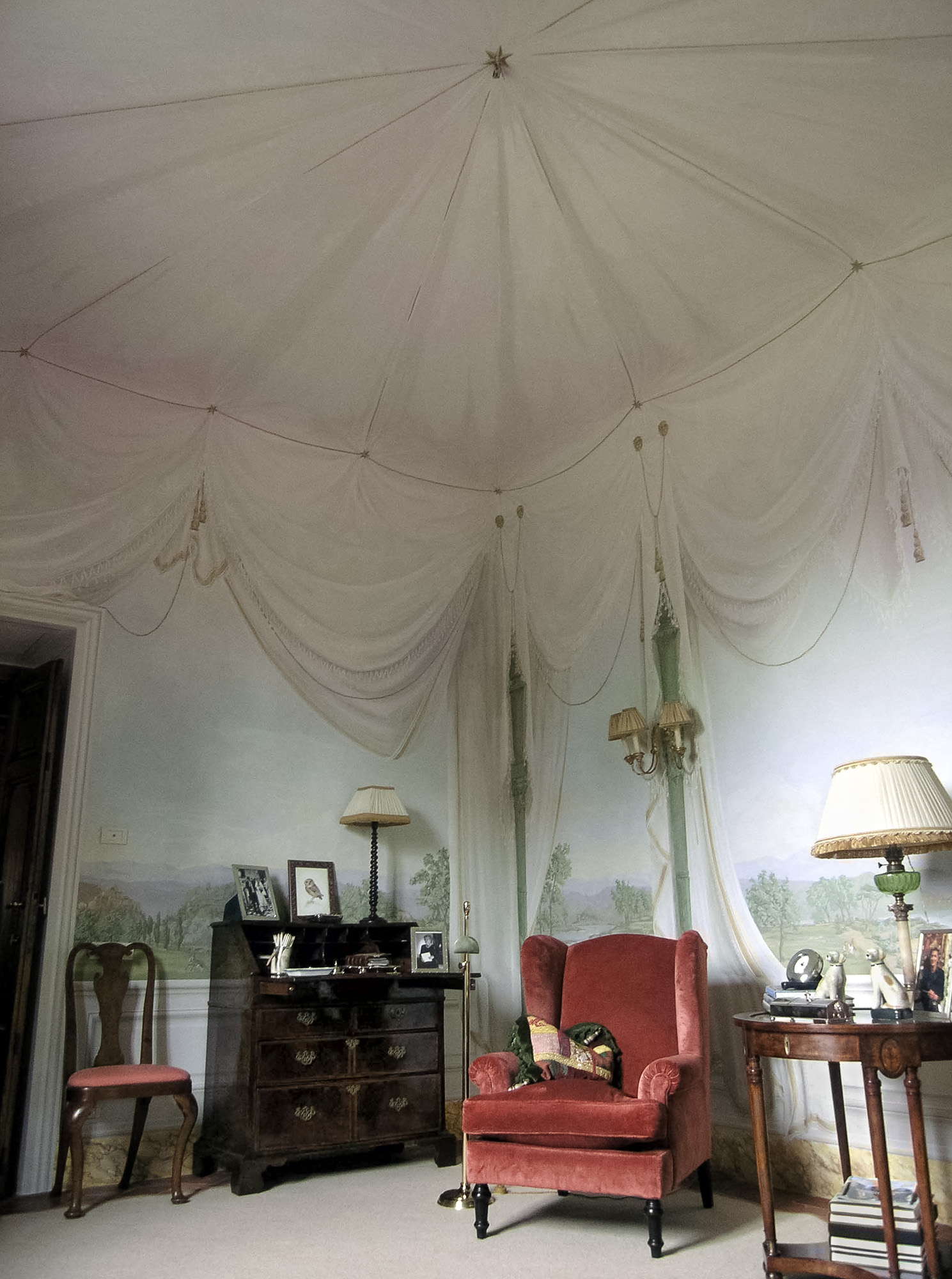 Tented room with furniture - Alexander Hamilton - Decorative Artist - London