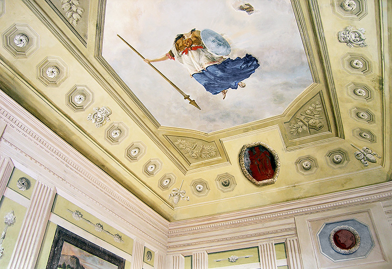 Ceiling Gardini Palace - Bibona - Italy - Alexander Hamilton - Decorative Painting - London