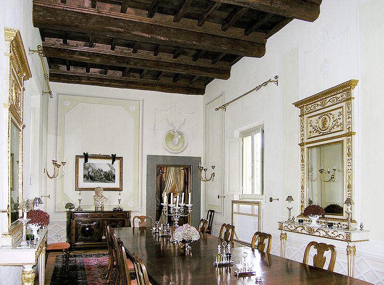 Dining room - Alexander Hamilton - Decorative Artist - London