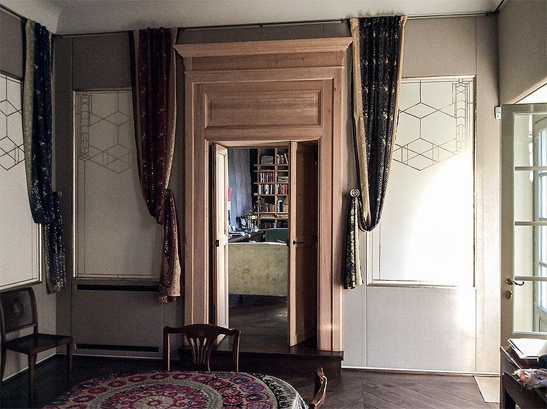 Mystery Panels - Alexander Hamilton - Decorative Artist - London